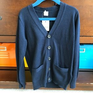 Crewcuts Size 4/5 Navy Sweater NWT